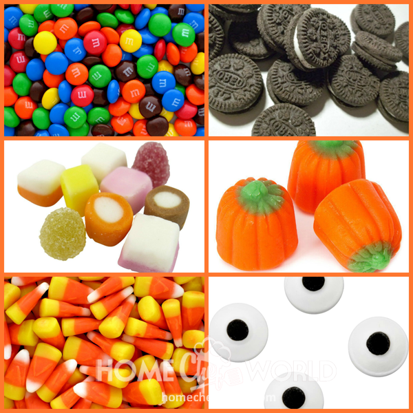 Candy Suggestions for Halloween Bark