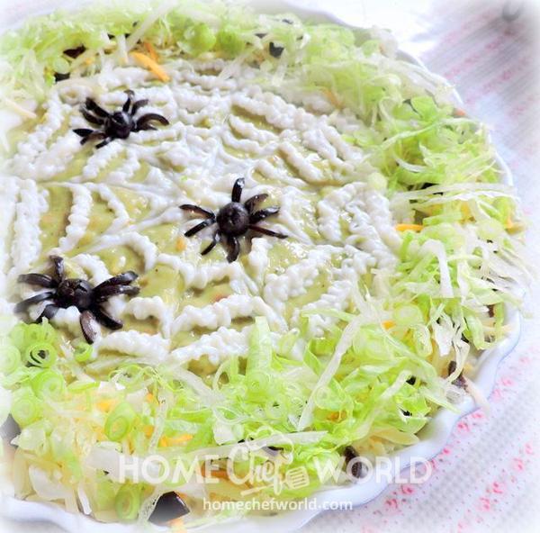 Spider Dip Halloween Dessert