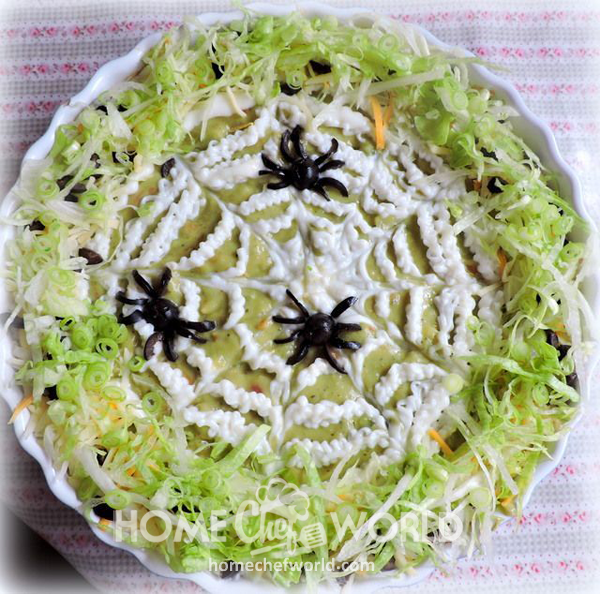 Spider Dip Recipe